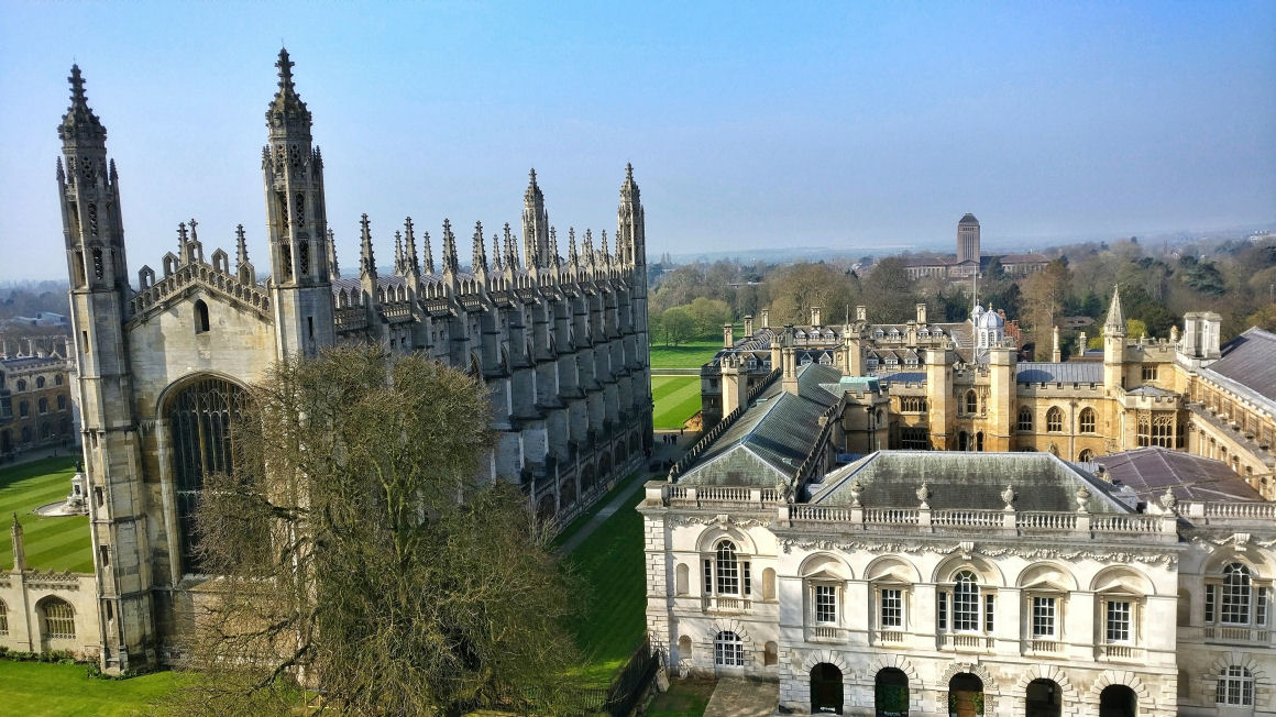 Kings College in the summer