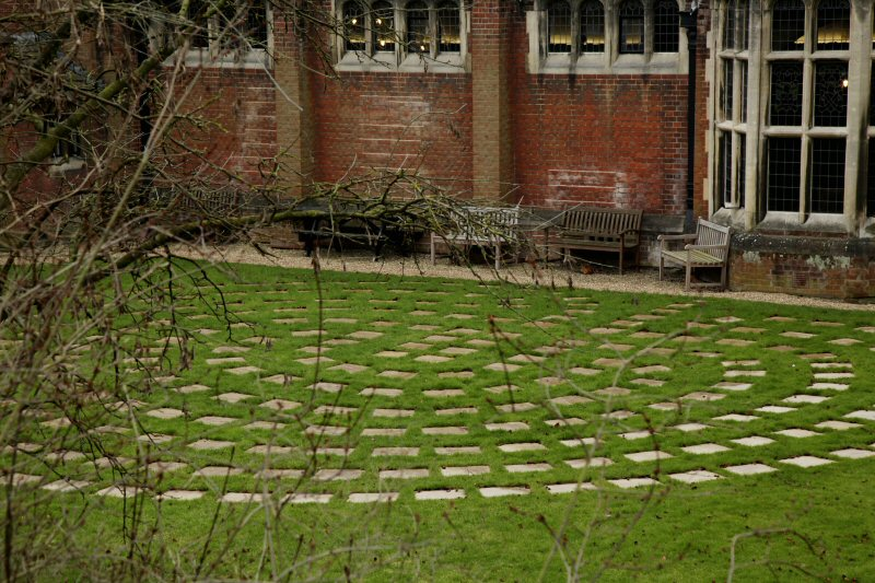 A photograph of Westminster labyrinth
