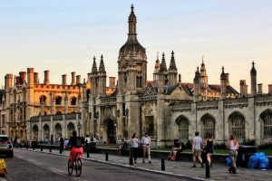 Kings Parade in Cambridge